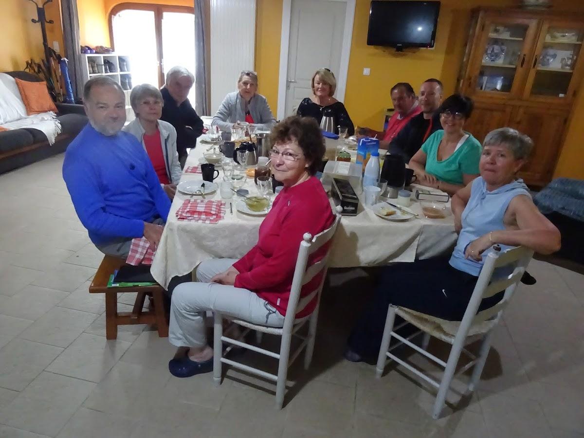 le mot de la soirée Ushuaïa merci pour cette excellente soirée et Ultreïa